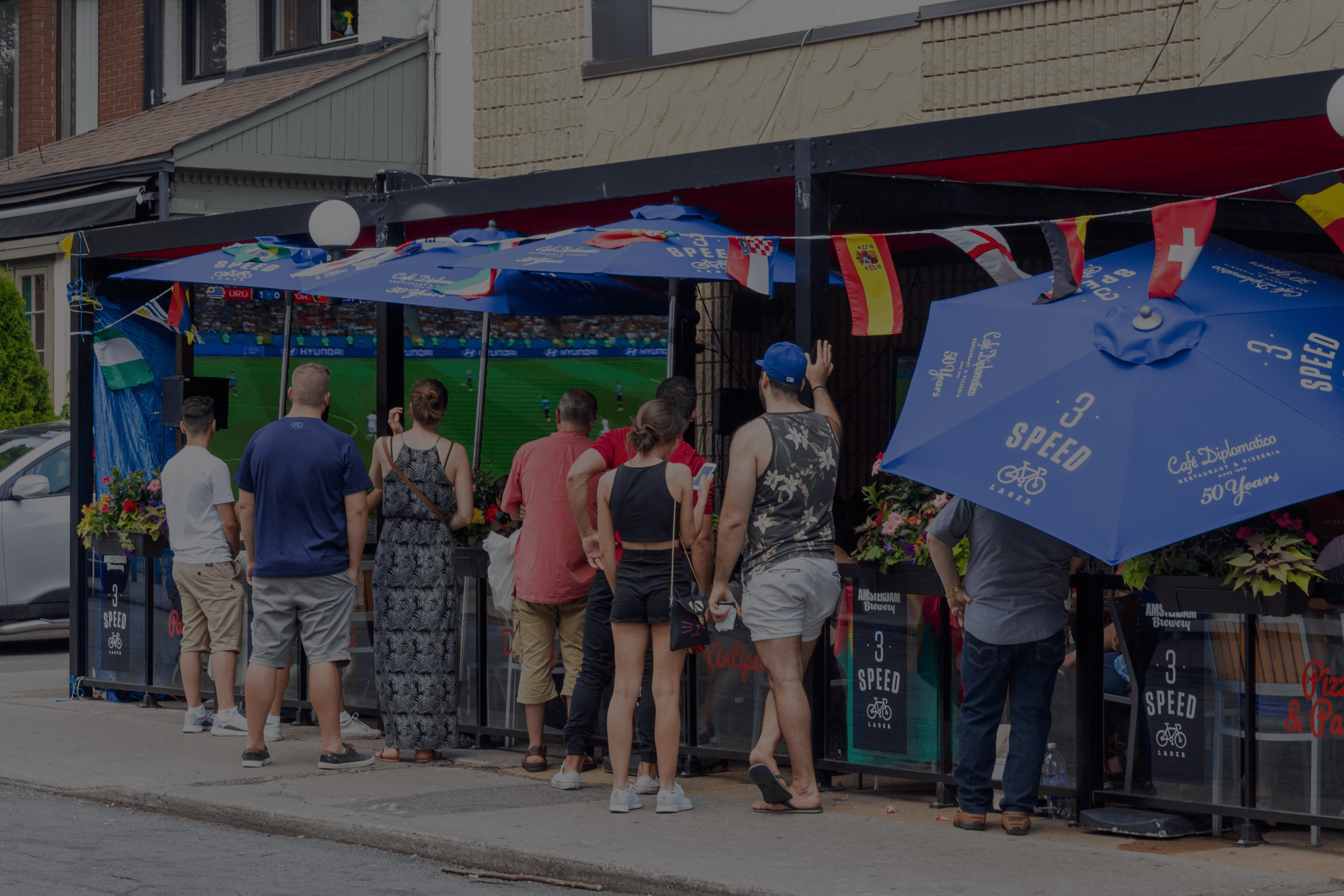 Life in Little Italy Toronto