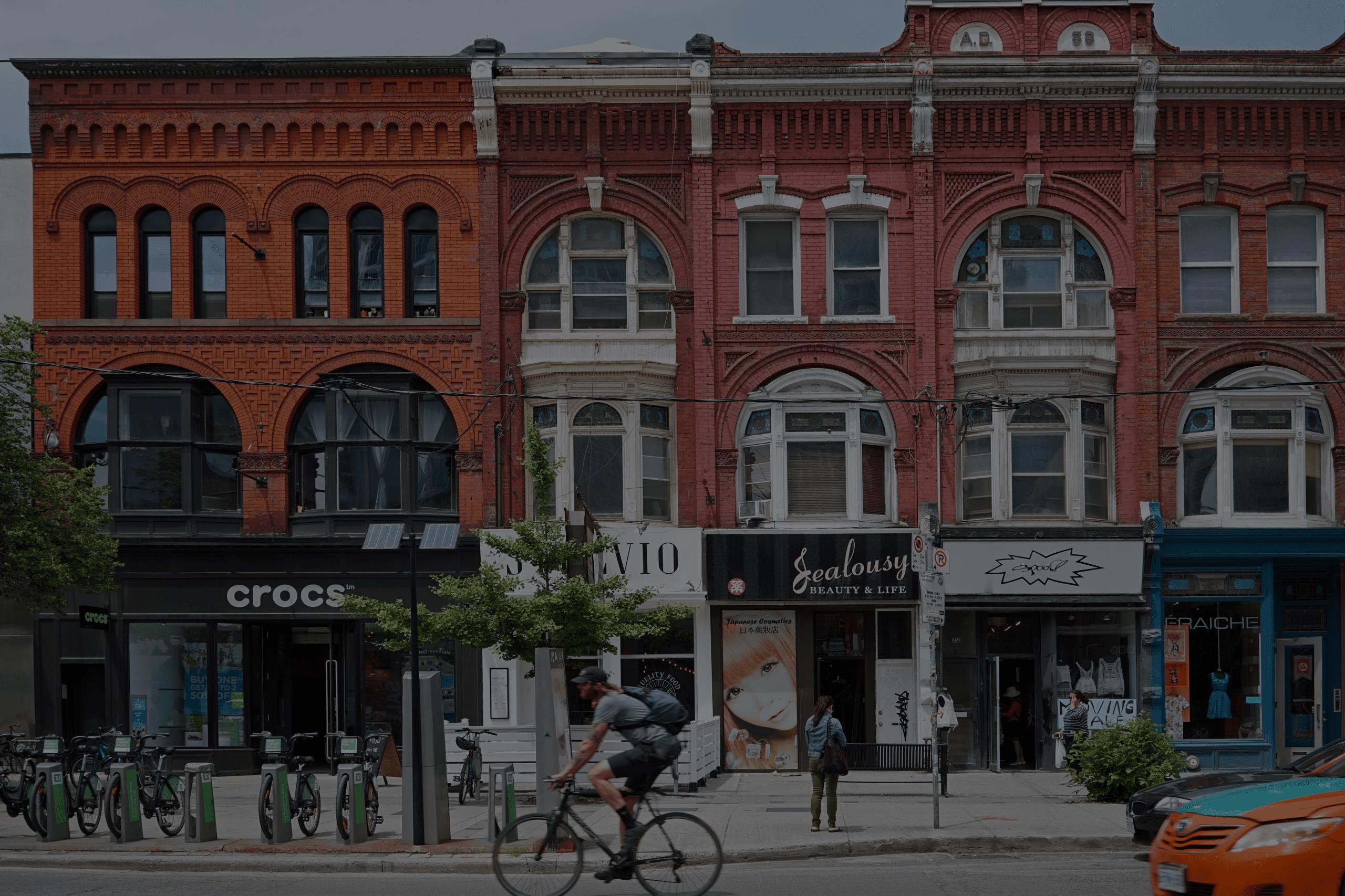 Life in Queen West Toronto